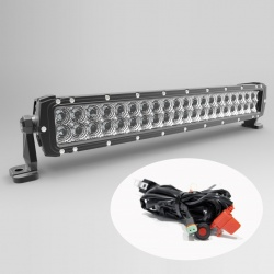 "Faro Barra Led 120W 22"" 56cm 8400 lm 4x4 fuoristrada jeep Ultimate"