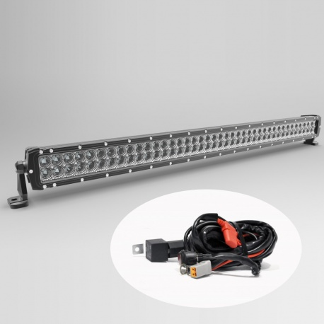 "Faro Barra Led 240W 42"" 107cm 16800 lm 4x4 fuoristrada jeep Ultimate"