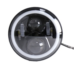 "Coppia Fari Lenticolari 7"" Full LED"